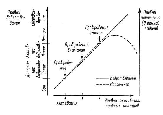 нервных центров и уровнями